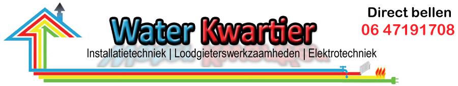 Waterkwartier - LOODGIETERS EN INSTALLATIE-BEDRIJF WATERKWARTIER.